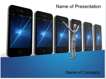 Mobile PPT Template