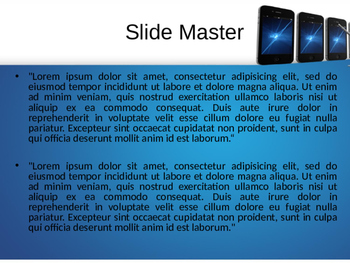 Mobile PowerPoint Template