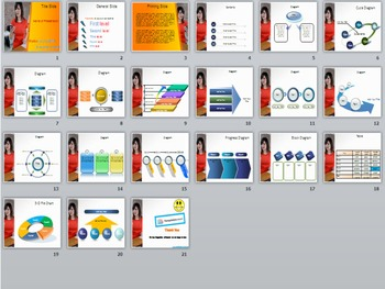 Mobile Problem PowerPoint Template
