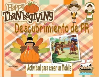 Mobile del descubrimiento de PR y día de Acción de Gracias