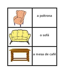 Mobiliario (Furniture in Portuguese) Casa Concentration games