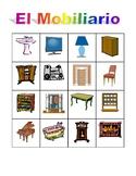 Mobiliario (Furniture in Spanish) Muebles Bingo