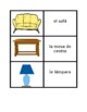 Mobiliario (Furniture in Spanish) Concentration games