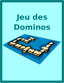 Mobilier (Furniture in French) Dominoes