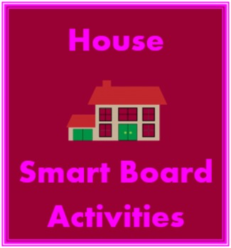 Maison et Meubles (House and Furniture in French) Smartboard activity