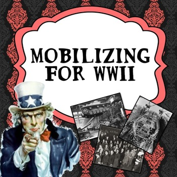Mobilizing for World War II PowerPoint