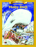 Moby Dick 10 Chapter Novel with Student Activities and Answer Keys