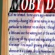 Moby Dick First Page Poster