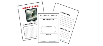 Moby Dick Notebook Pages