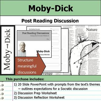 Moby-Dick - Socratic Method - Post Reading Discussions