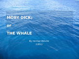 Moby Dick - Summary Power Point (plot, themes, characters,