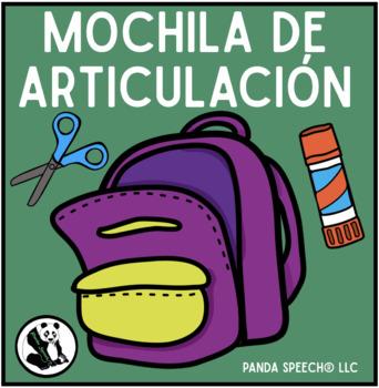Mochila De Articulación: A Speech Craft Activity (Español)