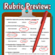 Mock College & Job Interview Questions with Rubric