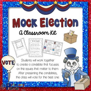 Mock Election Class Activity Set 2016