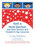 Mock Election, Debate and President's Day Resources for 1s
