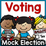 Mock Election Mini Unit - Learning about Voting