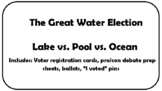 "Mock Election ""Ocean vs. Pool vs. Lake"""