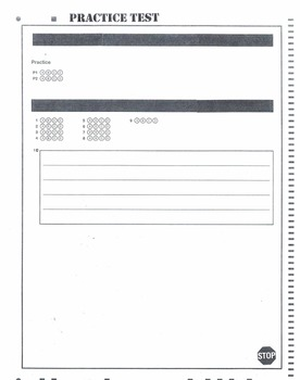 (6th Grade) Mock Georgia Milestones (GSE) Math Practice Test Bundle