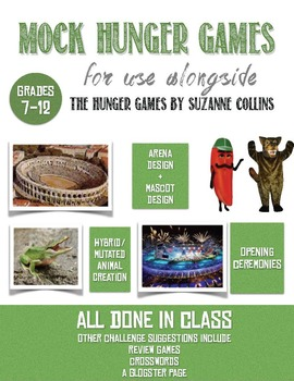 Mock Hunger Games for The Hunger Games by Suzanne Collins