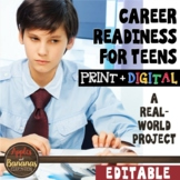 Career Readiness - Cover Letter, Résumé, Job Application,