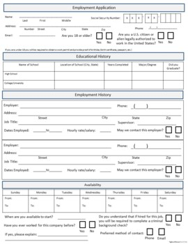 Career Readiness - Cover Letter, Résumé, Job Application, and Mock Interview