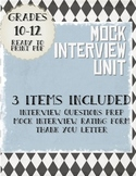 Mock Interview: Interview Questions, Rating Form, and Thank-You Letter