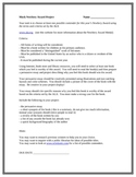Mock Newbery Award Selection Project Sheet