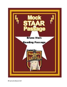 Test Prep Reading Passage: Bruno Mars