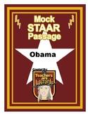 Test Prep Reading Passage: Obama