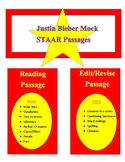 Mock STAAR Passages: Justin Bieber