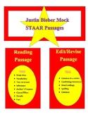 Mock STAAR Passages: Justin Bieber