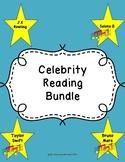 Test Prep Celebrity Reading Passage Bundle!!