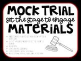 Mock Trial Classroom Transformation