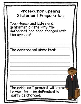 Mock Trial Preparation and Script
