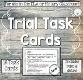 Mock Trial Task Cards