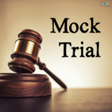 Mock Trial Literature Unit: Readings, Activities, Project, Use for ANY Novel