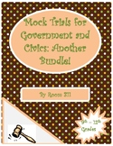 Mock Trials for Government and Civics: Another Bundle