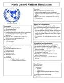 Mock United Nations Simulation