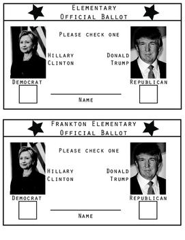 Mock Voter Registration & Ballot