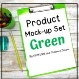 Mock-ups with Green Supplies