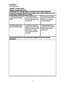 Mockingbird Literature Guide