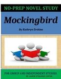 Mockingbird by Kathryn Erskine - No-Prep Novel Study
