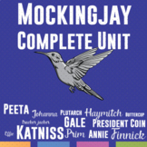 Mockingjay Unit: Quizzes, Task Cards, Test, Writing Prompts