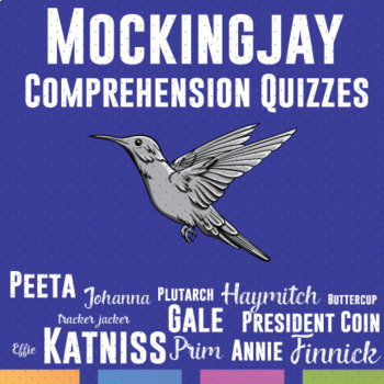 Mockingjay: Chapters 19-27 Quizzes or Test