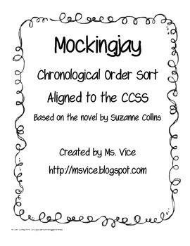 Mockingjay Chronological Order Sort