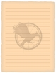 Mockingjay Hunger Games Trilogy Themed Stationery Paper
