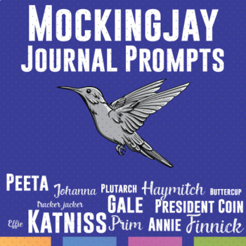 Mockingjay Journal, Writing Prompts