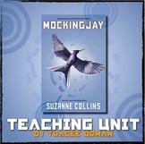 Mockingjay Novel Teaching Unit Tests, Questions, Projects, Vocab