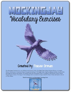 Mockingjay Novel Vocabulary Activities