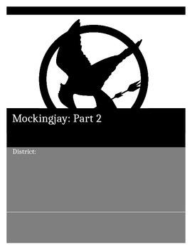 Mockingjay Part 2-Novel Study
